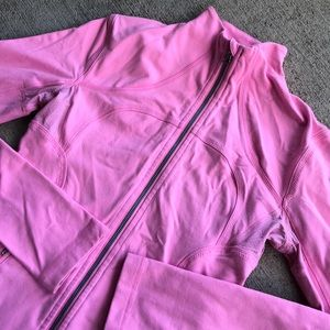 Lululemon Define Jacket 4 Pink Zip